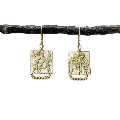 Etruscan Earrings by Tessoro