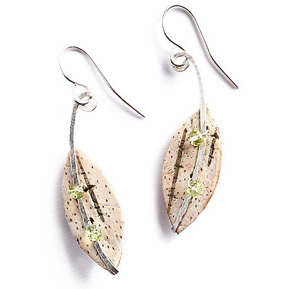 Peridot Calder Earrings by Tessoro