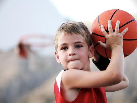 打籃球時的發現