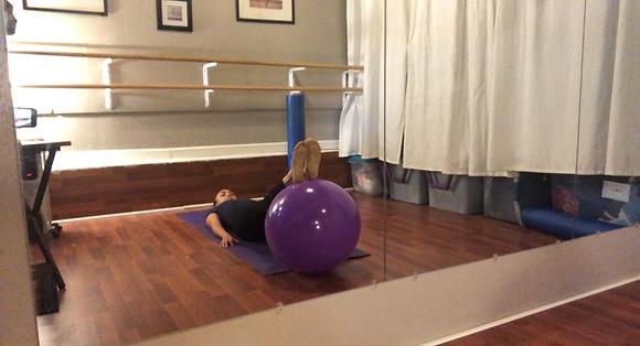 Ball Foam Roller Class Part 2