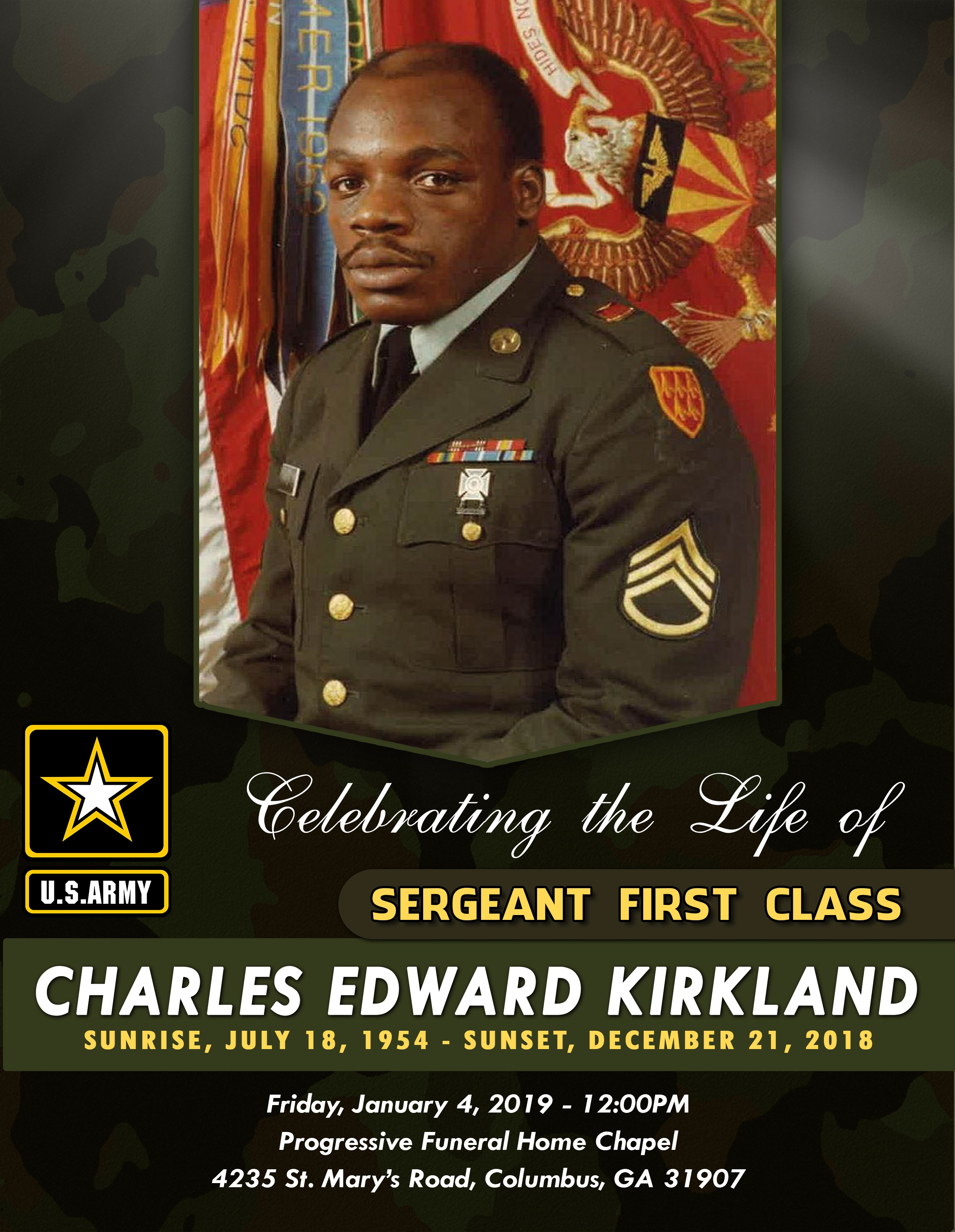 Charles Edward Kirkland  (outside)