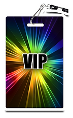 VIP BADGE sticker .tif