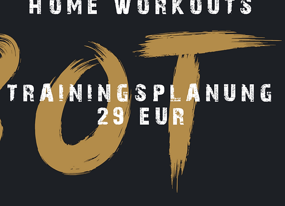 REMOTE COACHING HOME WORKOUTS ANGEBOT