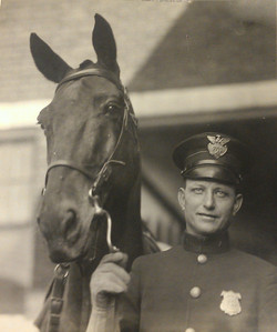 Henry Neckar and Bud 1922