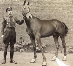 Louis Guarniere and King Barrymore 1942