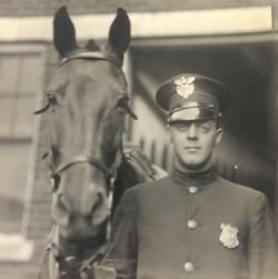Harold Dales and Lightning 1922