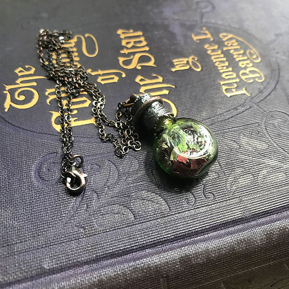 Spell Bottle Necklace: Love