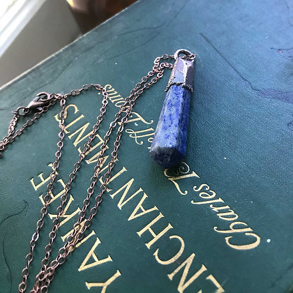Lapis Point Necklace