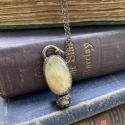 Golden Healer & Faceted Labradorite