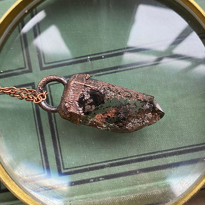 Phantom Chlorite Necklace #8