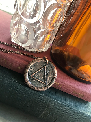 Fire Wax Seal Necklace