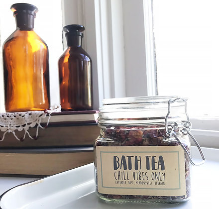 Bath Tea: Chill Vibes Only