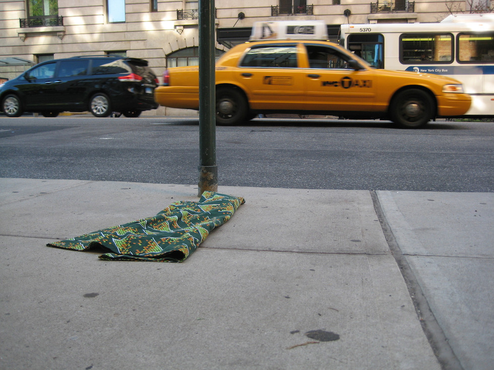 A dress in Manhattan