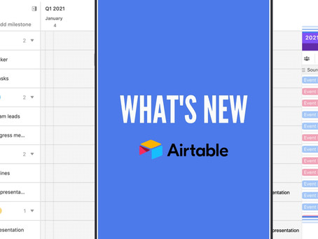 What's new in Airtable?