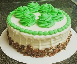 Crown Royal Topper Cake