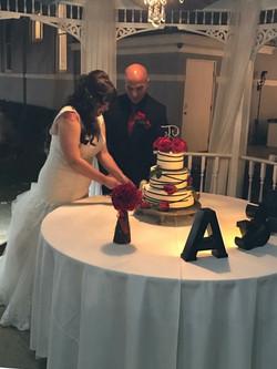 California Wedding Cake