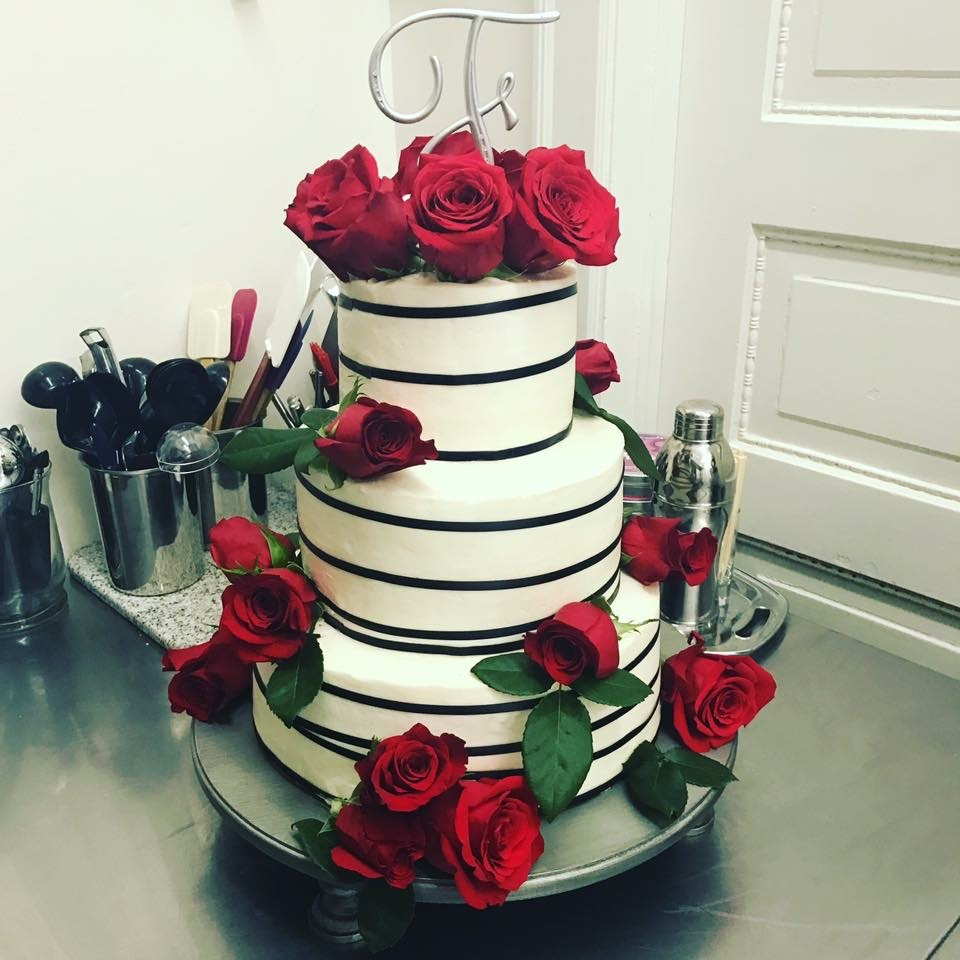 California Wedding Cake