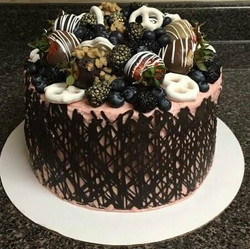 Chocolate Shell Cake