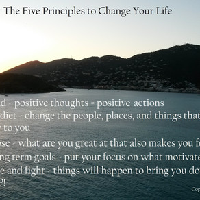 Coach Rob's Five Principles to Renew Your Life