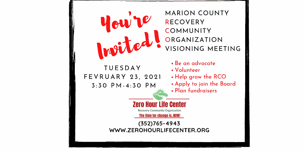 February ZHLC RCO Visioning Meeting