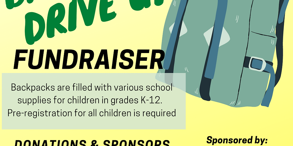 Backpack Drive Up Fundraiser