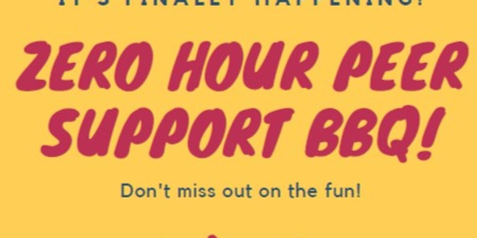 Zero Hour Peer Support BBQ