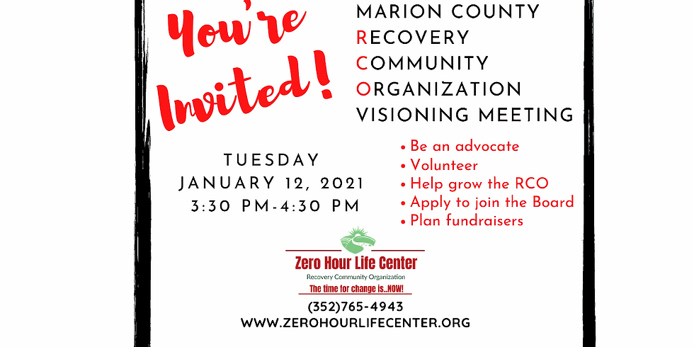 January ZHLC RCO Visioning Meeting