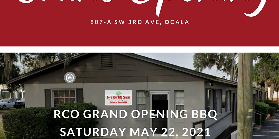 RCO Grand Opening BBQ