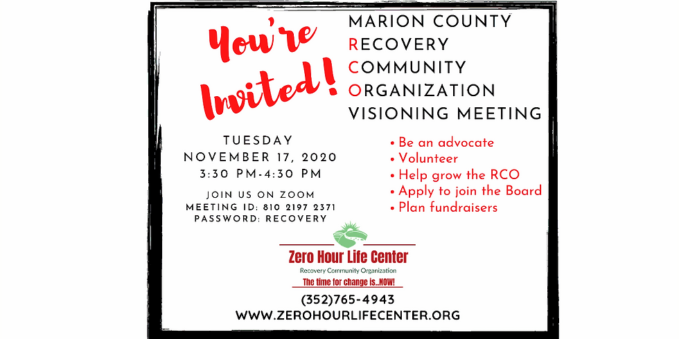 Marion County RCO Visioning Meeting