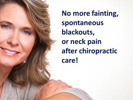 Vasovagal Syncope & Chiropractic