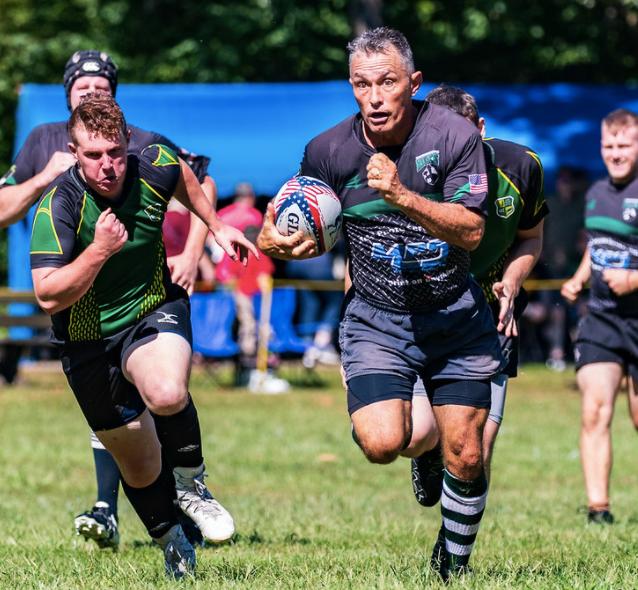 Rugby After Broken Scapula