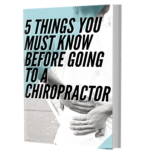 5 Things You Must Know Before Going to a Chiropractor Free Report
