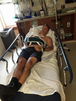 Dr. Tressler Broken Scapula Hospital