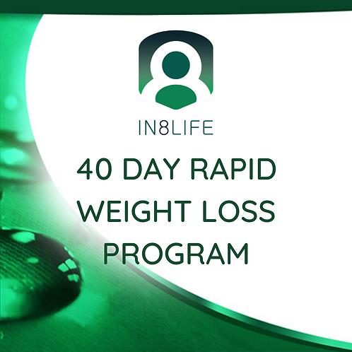 40 Day Rapid Weight Loss Program
