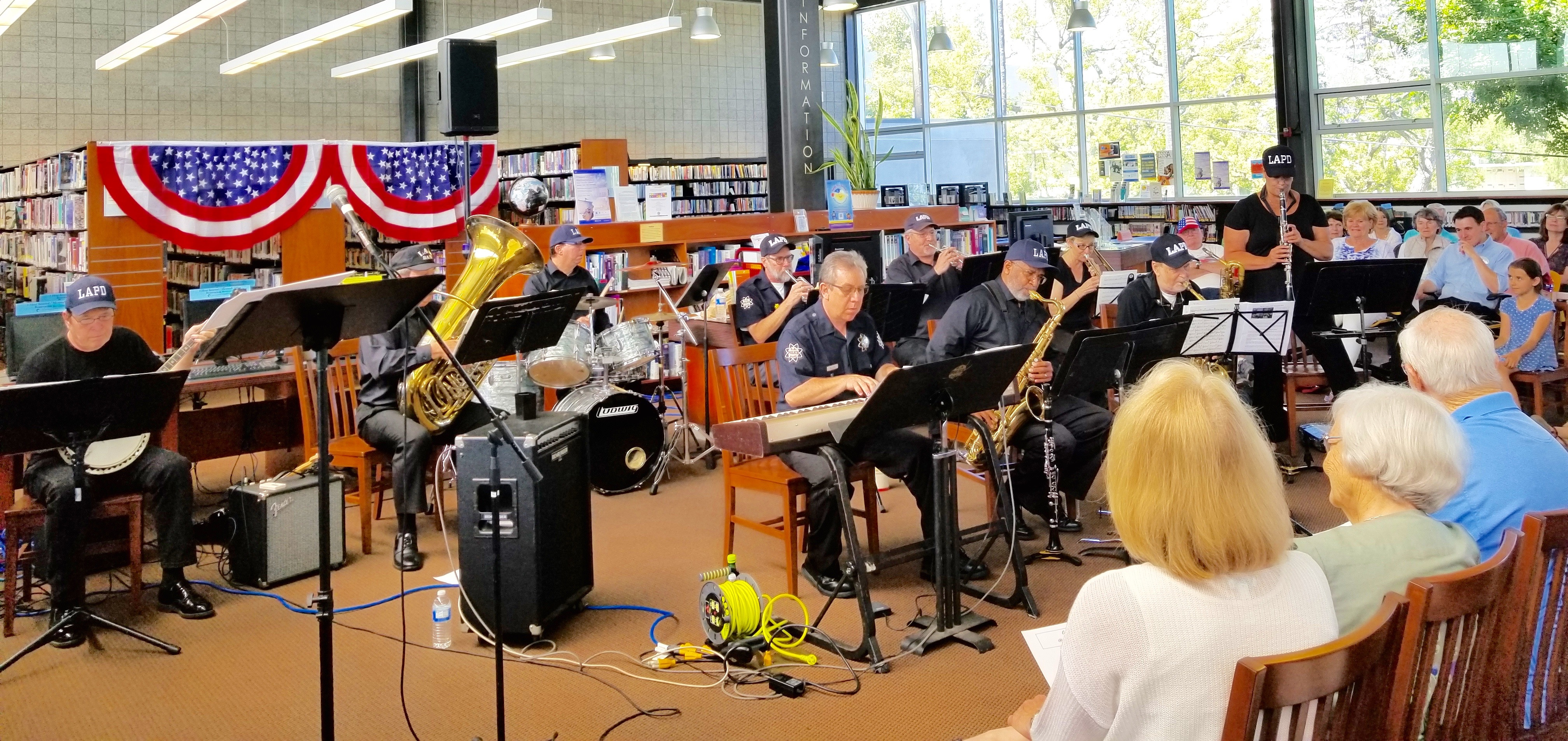 The LAPD Swing Band