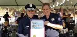 Chief Moore & Maestro Richard Allen