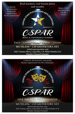 Center Stage Players and Arts Repertory Music Academy