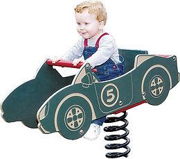 Playground Racecar Motion Toy