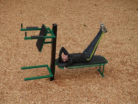 StayFIT Flat Bench Leg Raise