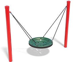 1 Bay Multi-User Playground Swing Set