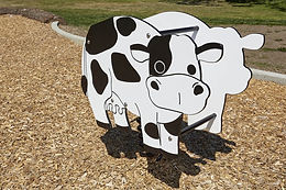 Cow Playground Motion Toy