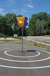 Triple Hoop Playground Game