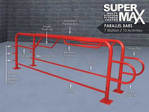 StayFIT  SuperMAX Super Duty Parallel Bars