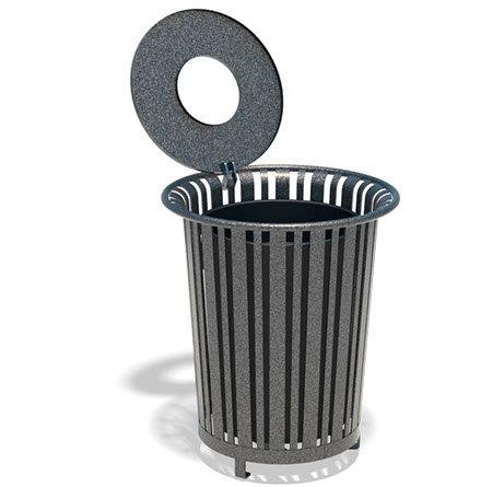 Trash Receptacle - Model TC021-HL