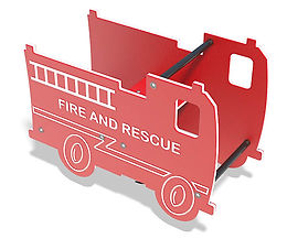 Playground Fire Truck Motion Toy