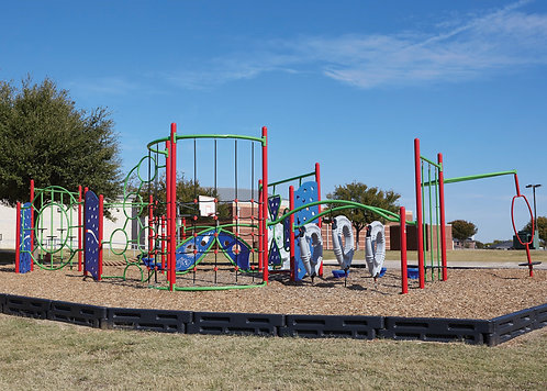 PlaySteel FIT Playground Structure - Model B306620