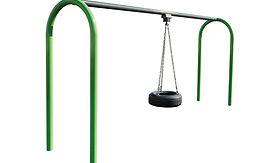 Tire Playground Swing