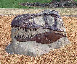 T-Rex Playground Dinosaur Climber