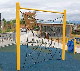 Spider Net Playground Climber