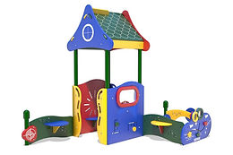 PlayTots Playground Structure - Model PT20076R0